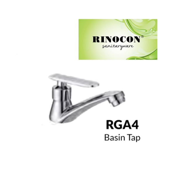 RINOCON RGA4 BASIN TAP COPPER CHROME (KEPALA PAIP)