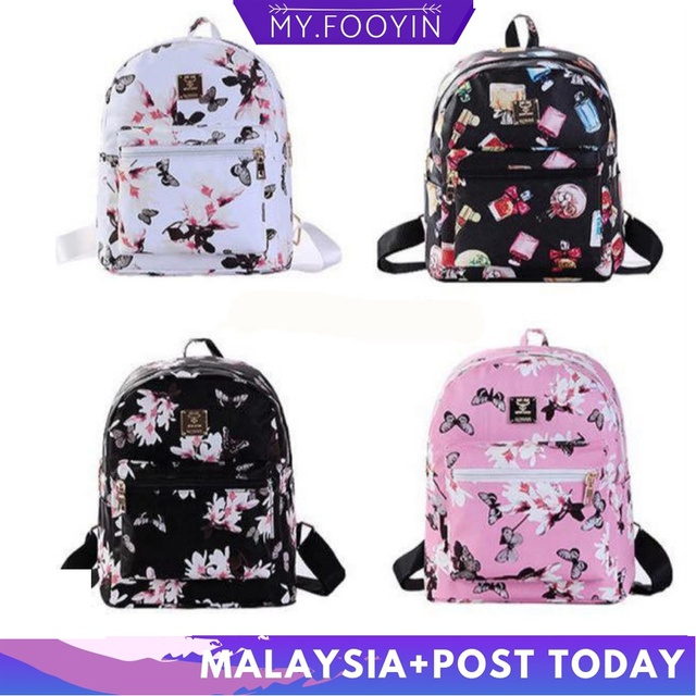 High-quality🔥Japanese korean style college style casual Retro capacity backpack | Shopee Malaysia