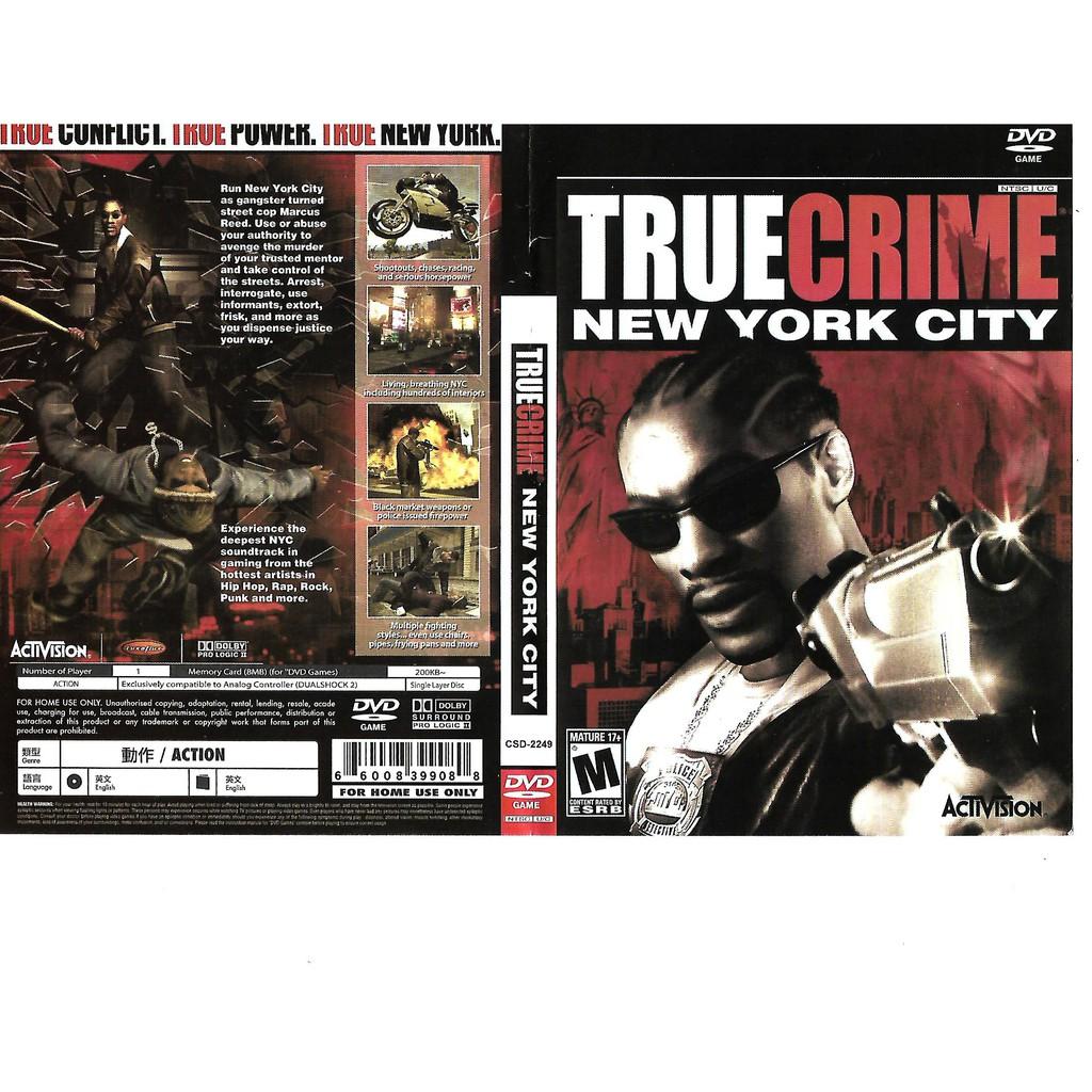 PS2 GAMES_ TrueCrime New York City