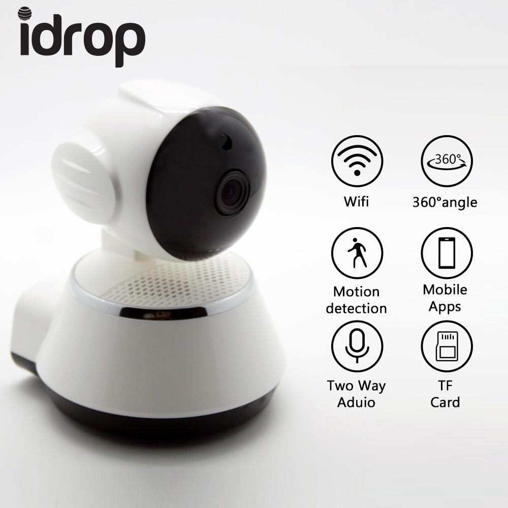 Wifi Camera 360 Wireless HD 720P Smartphone Audio Baby Monitor