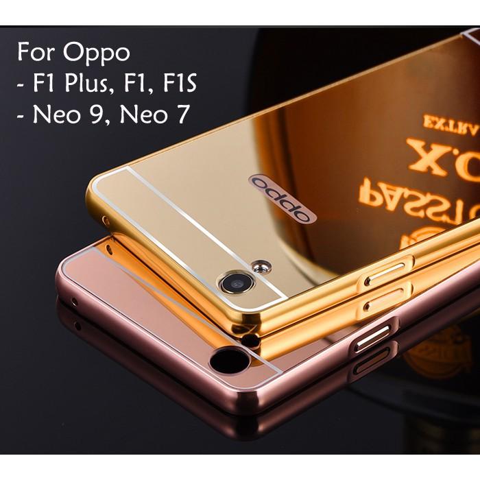 Oppo F1 F1 Plus F1S Neo 7 Neo 9 A37 A37F Mirror Cover Case Casing Housing | Shopee Malaysia