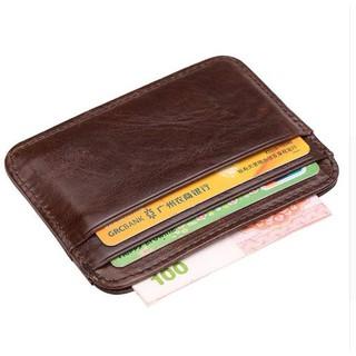 d79501e81405 Slim Wallet RFID Front Pocket Wallet Minimalist Secure Thin Credit ...