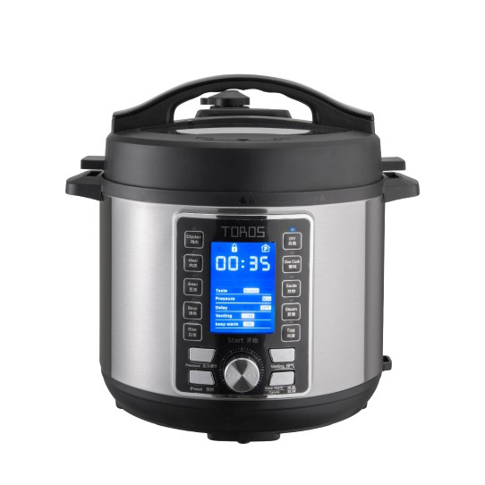 [CNY SALES] Buffalo Toros 6L Electric Pressure Cooker 牛头牌6L电压锅