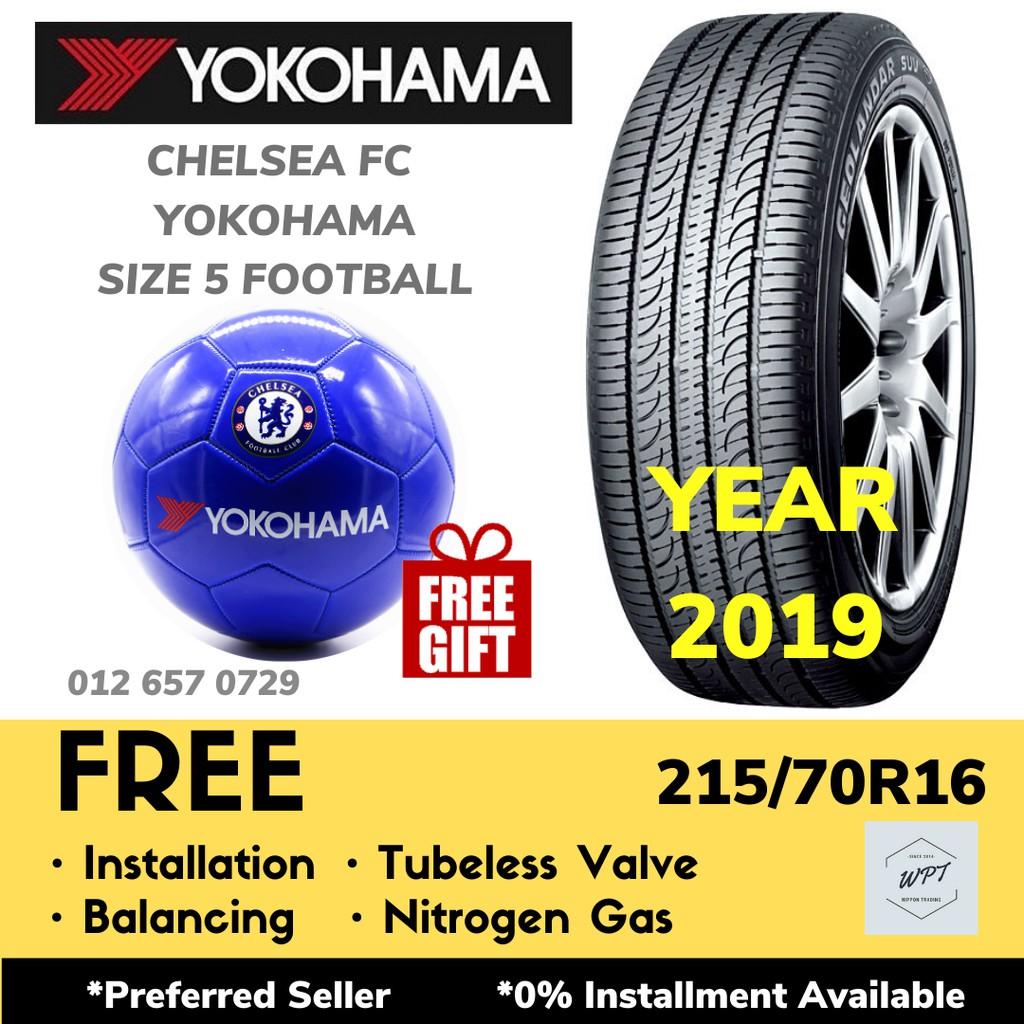 215/70R16 YOKOHAMA GEOLANDER SUV G055 (INSTALLATION) New Tires Tayar Tyre WPT NIPPON
