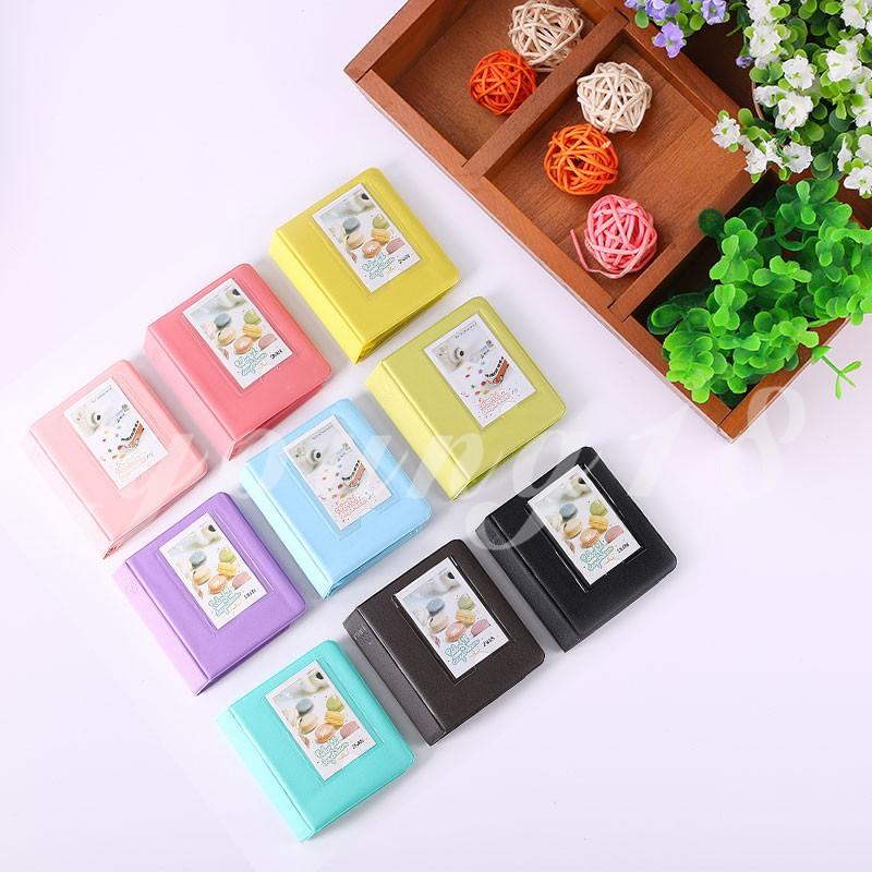 64 Pockets Instant Photo Album For Polaroid Fujifilm Instax Mini 7 7S 8 9