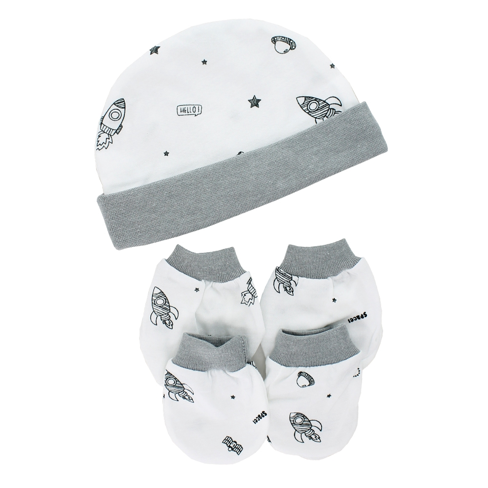 8b43bf9e7 Pureen Newborn Baby 1 Set : mittens, booties and head cover + free gift |  Shopee Malaysia