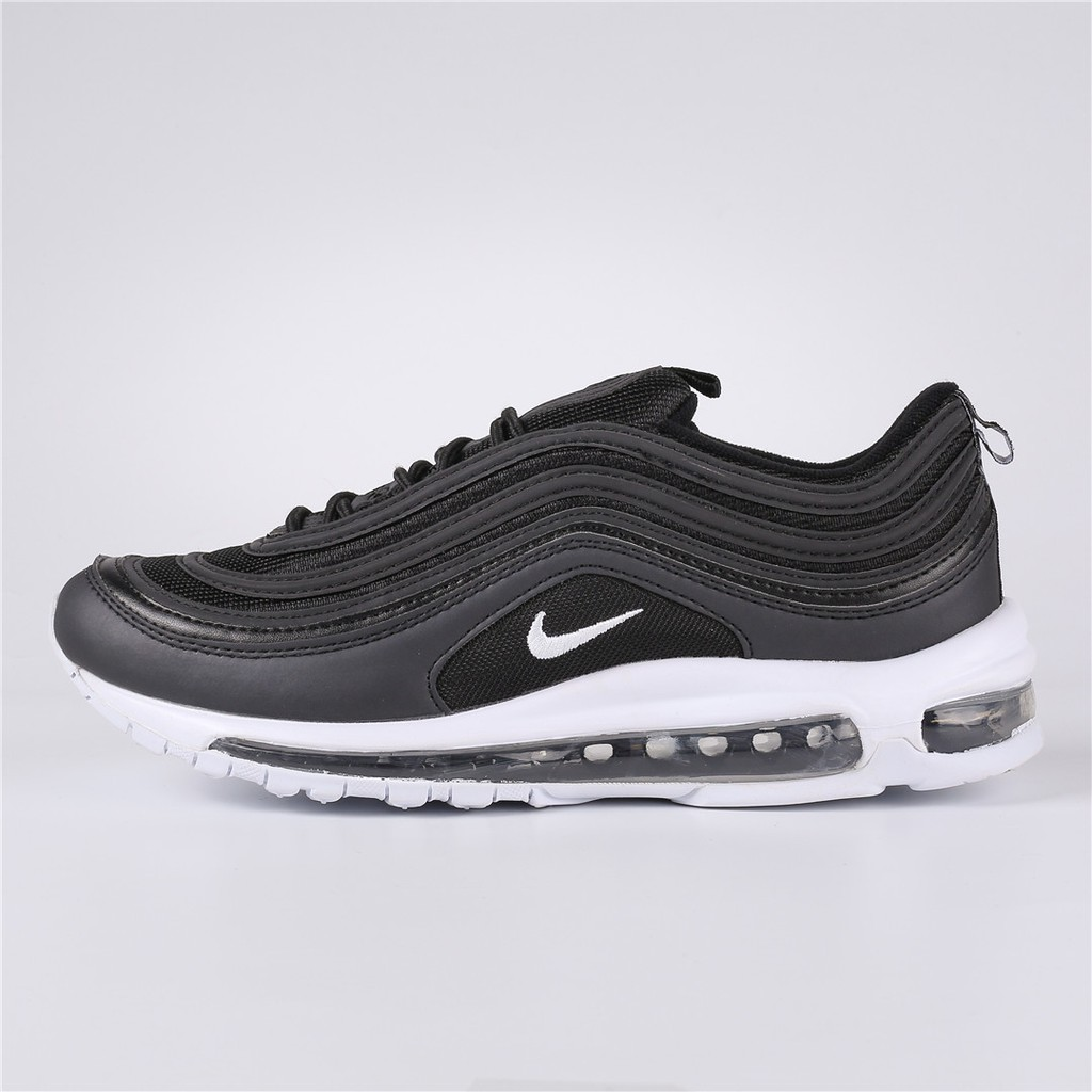 58446f1d6e Nike Air Max 97 Running Shoes Kasut lari hitam putih | Shopee Malaysia