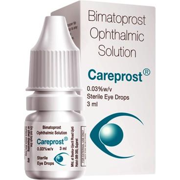 Latisse/Bimatoprost (Careprost Eyelashes Extension Care Solution - 3ml)