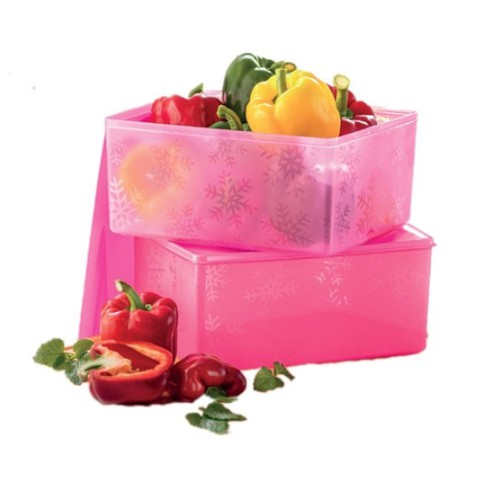TUPPERWARE Stor N Serve 6 Liter | Bekas Makanan Kedap Udara | Freezer Fridge Food Container