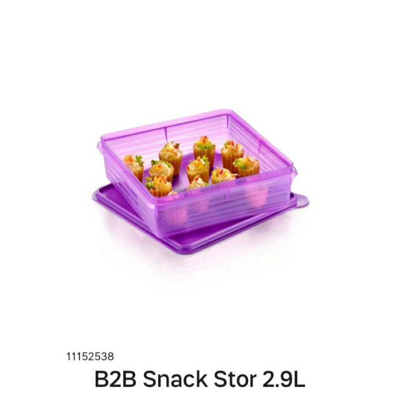 TUPPERWARE B2B Snack Stor 2.9L