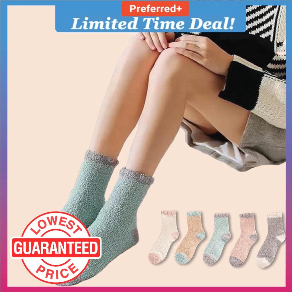 Maternity Socks Stoking Terapi Stoking Pantang Fluffy Sock Ibu Stokin Tebal Ibu Mengandung (MTS)