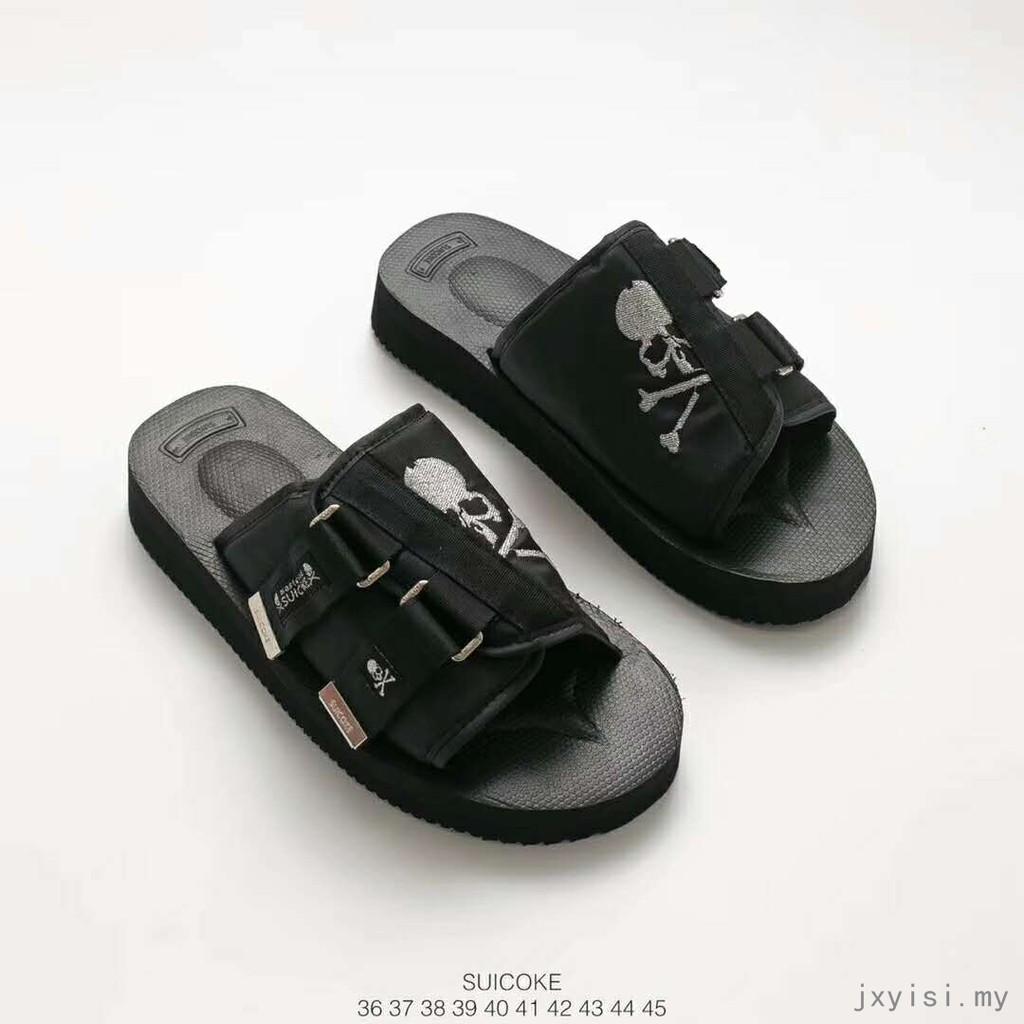 f958a11ac Men women sandals Mastermind JAPAN Suicoke Vibram MOTO-VS Dark SKULL  slippers | Shopee Malaysia