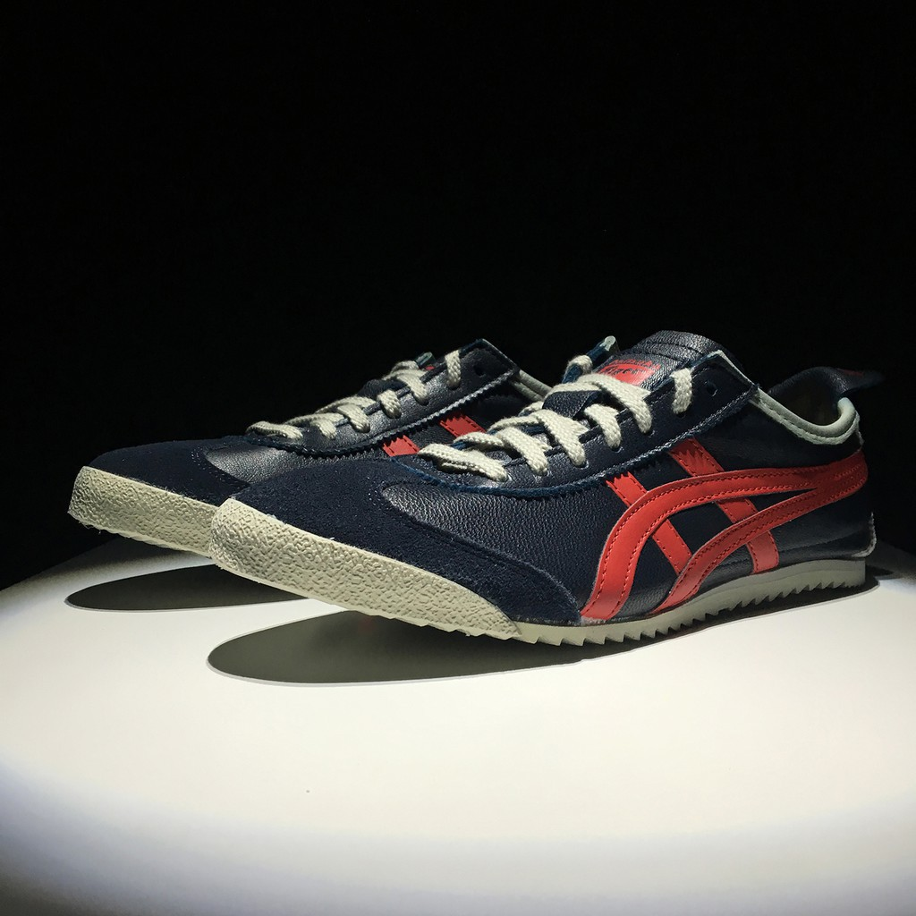 best sneakers d0f52 34cf9 ASICS Onitsuka Tiger MEXICO 66 DELUXE Men Women Shoes Retro Classic Shoes