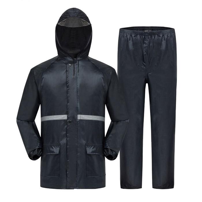 Motorcycle Raincoat Baju Hujan Outdoor Jacket + Pants