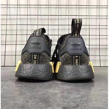 Adidas originals NMD R1 N M D Lady's knit sneakers camouflage camouflage 23cm 24.5cm D96617