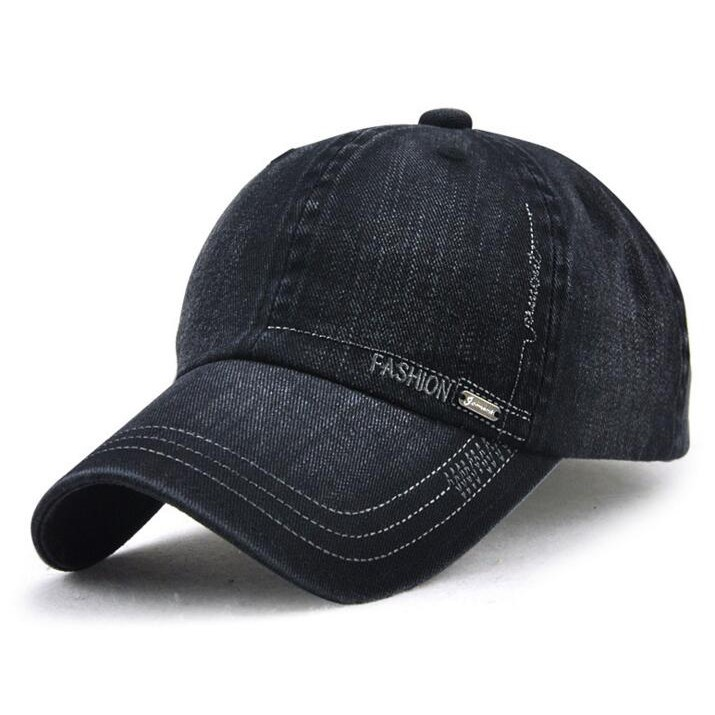 6136dd64a40843 Men Baseball Caps Pu Leather Peaked Hats Visor Driver Golf Caps Adjustable    Shopee Malaysia