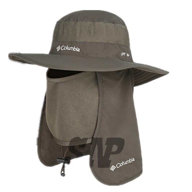 Boonie Fishing Hiking Outdoor Brim Neck Cover Bucket Sun Flap Hat Bush Cap   4fe0279103a7