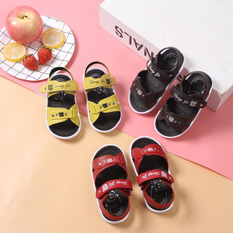 Kids Girls Summer Holiday Crystal Sandals Infant Princess Elastic Flat Shoes New