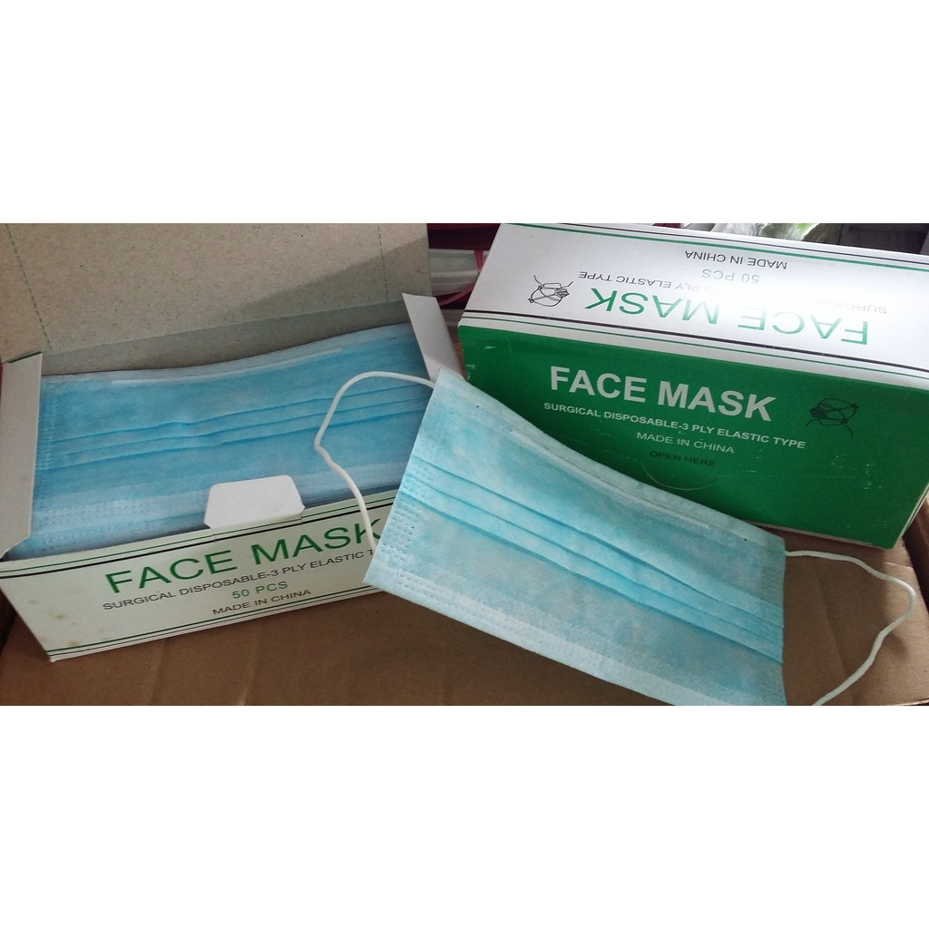 medical disposable face masks dust for air pollution