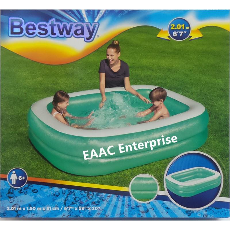 READY STOCK Pool Bestway Inflatable Paddling Family Kids Swimming pool KOLAM Mandi KANAK2
