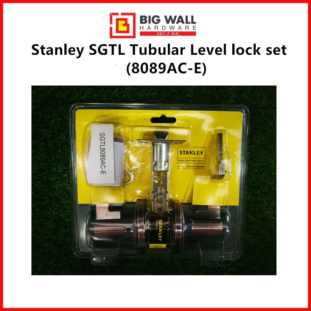 Stanley Tubular Lever Door Handle Set SGTL8089AC-E (Bronze)