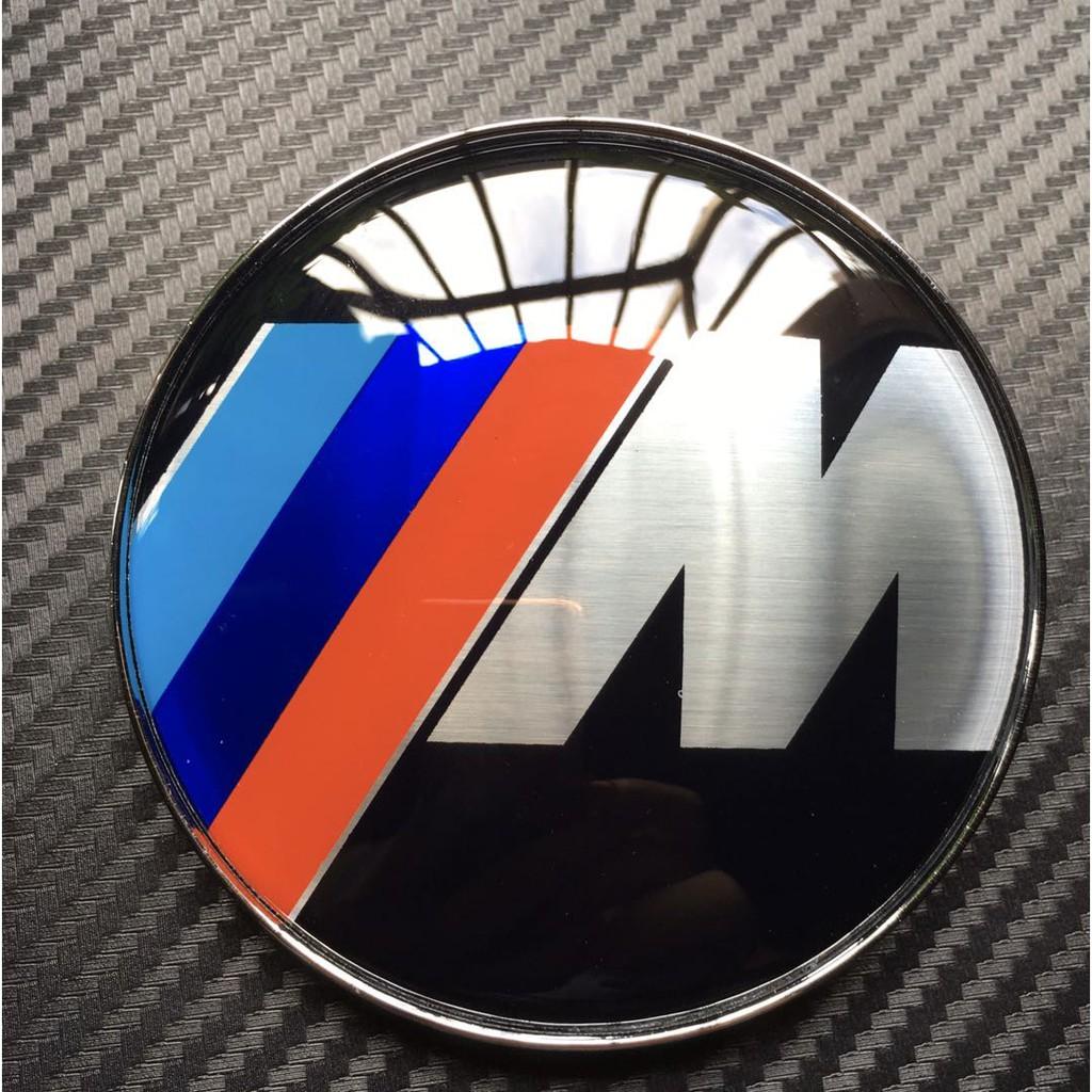 2 x BMW M Sport 82mm//74mm Bonnet//Boot Badge Set