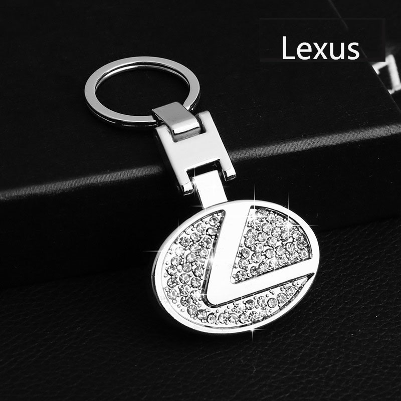 NEW hot Car KeyRing// Keychian Metal CAR LOGO Mercedes// Toyota// volkswagen// Lexus
