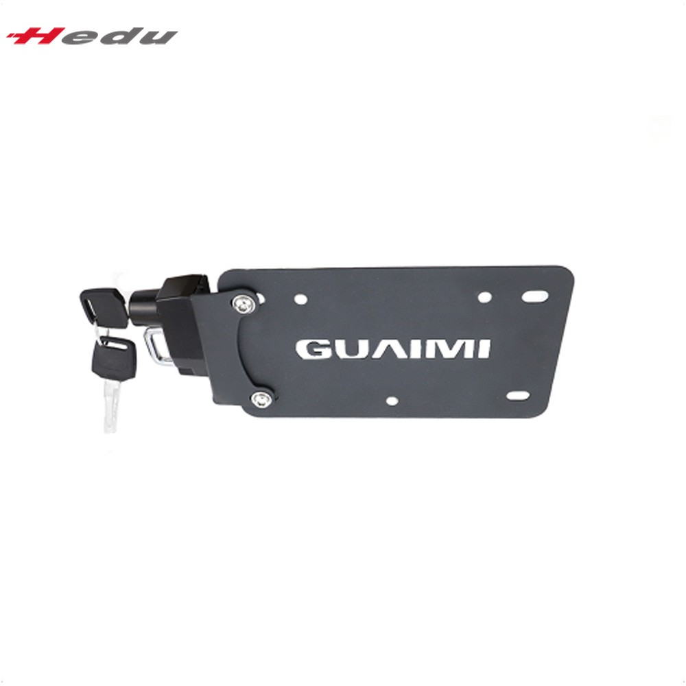 GUAIMI License Plate Helmet Security Lock with Mount Anti-Theft for BMW R1200GS LC//ADV R1250GS//ADV