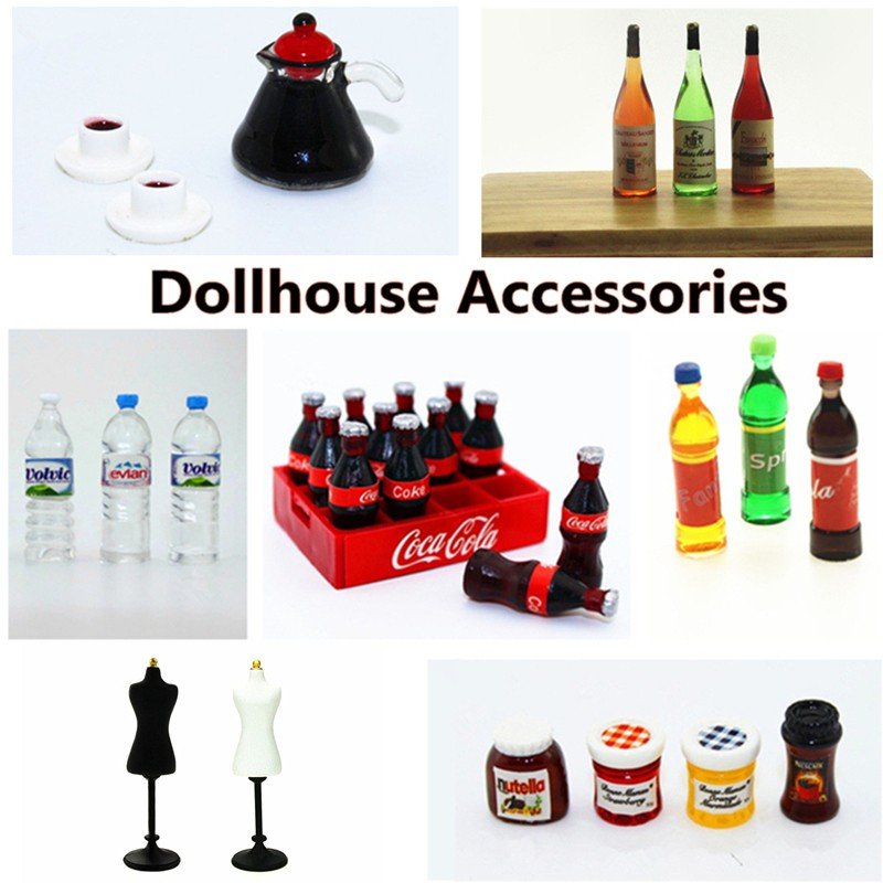 HOT FIGURE TOYS 1//6 Doll model scene item accessories Mineral water beverage