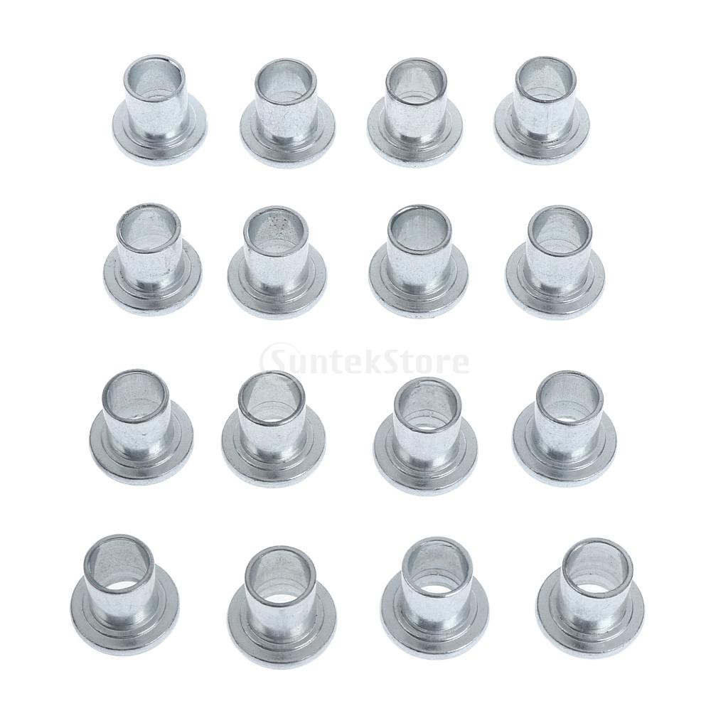 16 Pieces Iron Inline Roller Skate Bearing Spacers Replacement Skating Tool