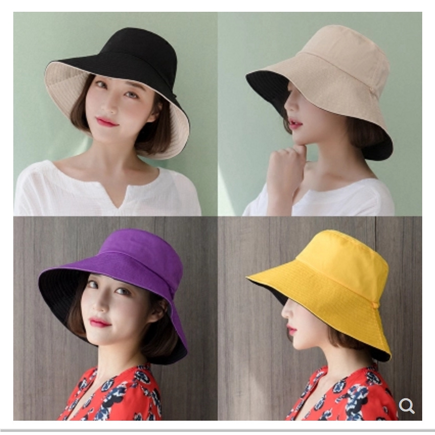 3f009da4617b4 Hat female summer Korean version of the wild big Japanese fisherman hat male  Har