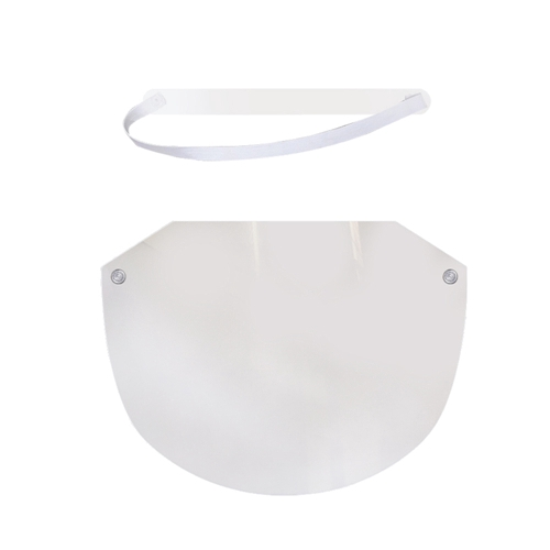 Transparent Full Face Protective Adjustable Face Shield