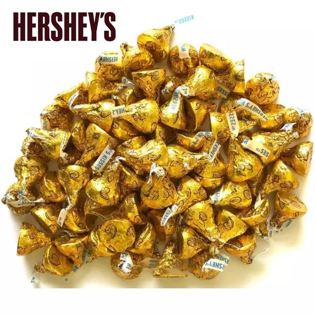 [2PCS] Hersheys Kisses Extra Creamy Milk Chocolate with Almonds [2PCS]
