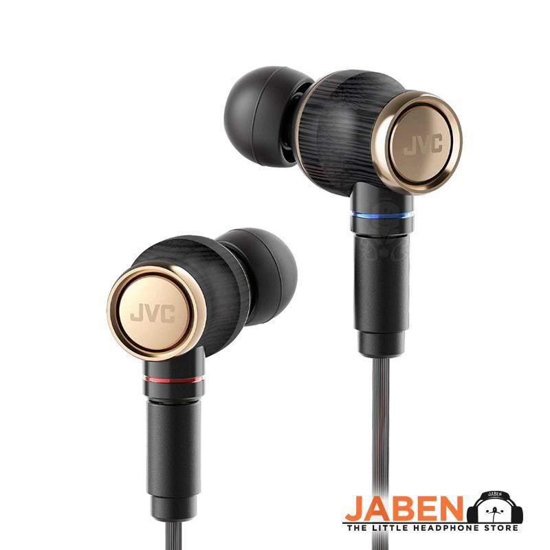 JVC HA-FW1800 Hi-Res Premium Wood Dome Detachable MMCX In-Ear Earphones FW1800 FW10000