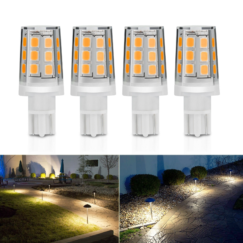 WARM WHITE LED bulb for Malibu and all T10 T15 Landscape light  12v AC//DC 10X