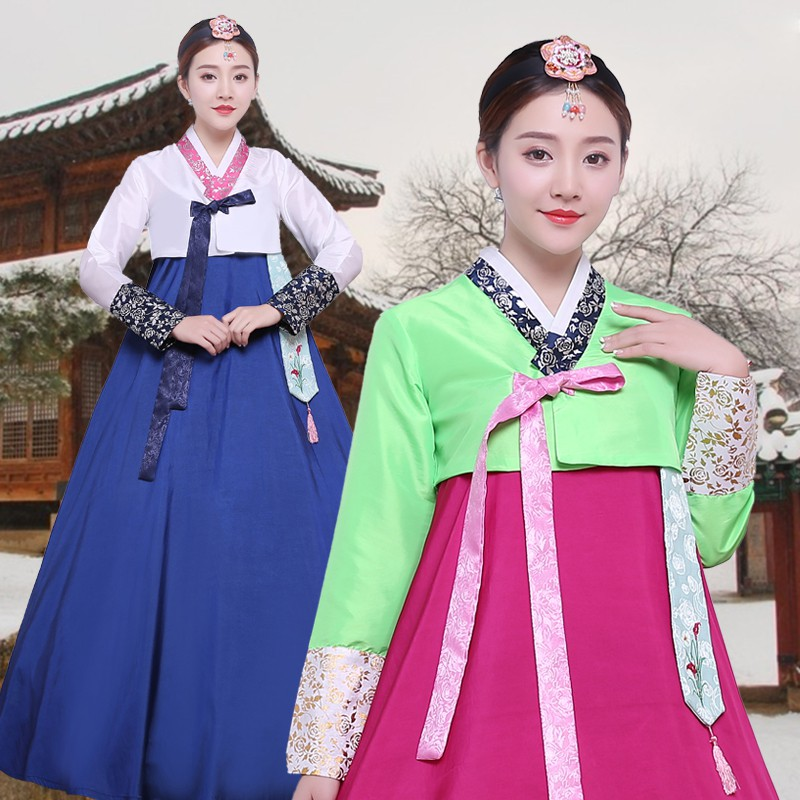 2180aa730c Hanbok traditional costume ladies national costumes Korean costume dance  clothes