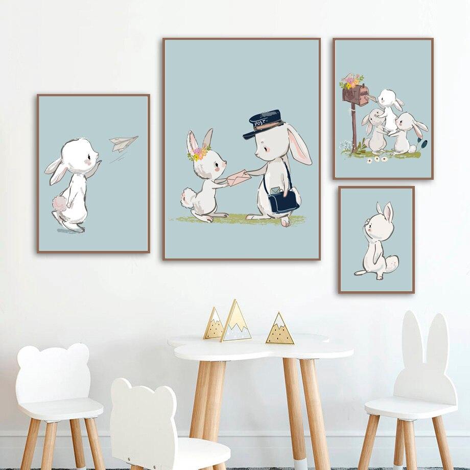 Anna Frozen Wall Art Disney Watercolor Poster Baby Room Home Decor UNFRAMED