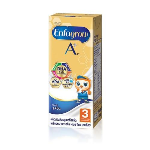 เอนฟาโกร เอพลัส สูตร 3 รสจืด นมกล่อง ยูเอชที สำหรับ เด็ก 24 กล่อง x