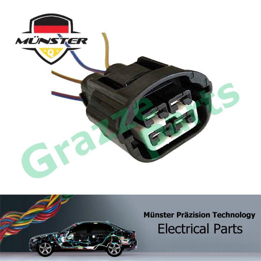Münster 4-Pin Socket Radiator Cooling Fan Motor MU005 Mazda 2