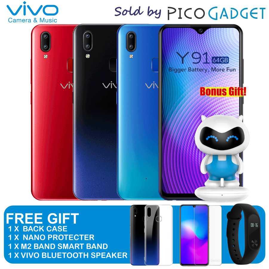 vivo Y91 (64GB + 3GB RAM) + FREE GIFT (Official Vivo Malaysia)