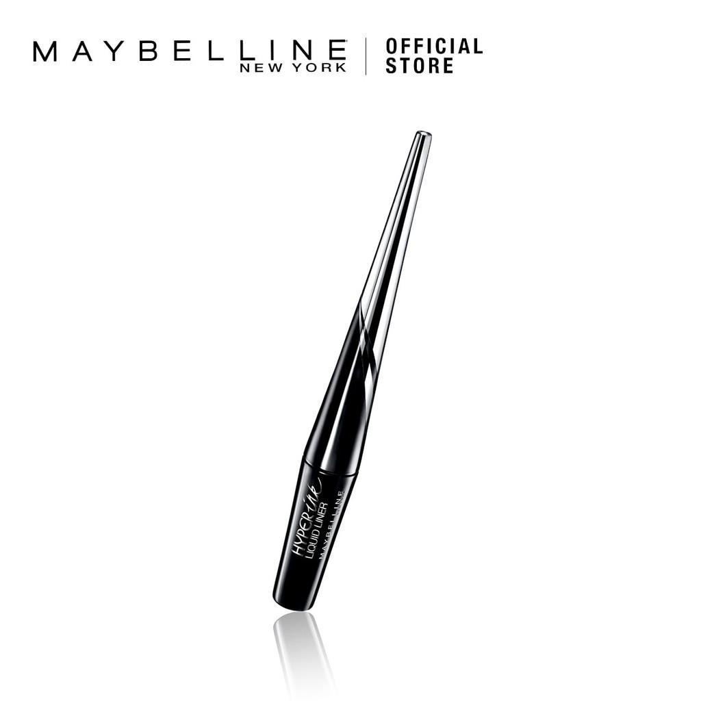 Maybelline Hyper Tight Eyeliner Jet Black Shopee Malaysia Liquid