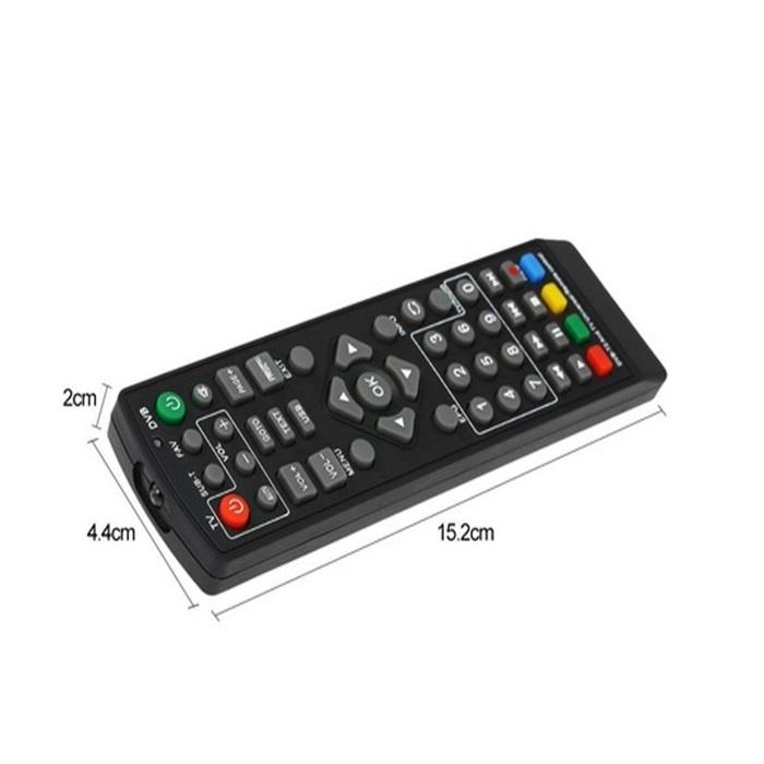MALAYSIA] ALAT KAWALAN JAUH DVB-T2 DVBT2 /S2/K3/K2 Set Top Box Remote Control For Decoder Digital Receiver Tunner