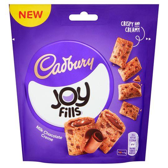 CADBURY JOY FILLS MILK CHOCOLATE CREME 90g