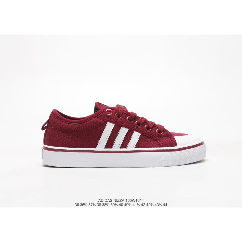 no sale tax buy on feet shots of Original ready stock Adidas Nizza Clover New Layout Canvas Campus Sneakers  Tide Shoes