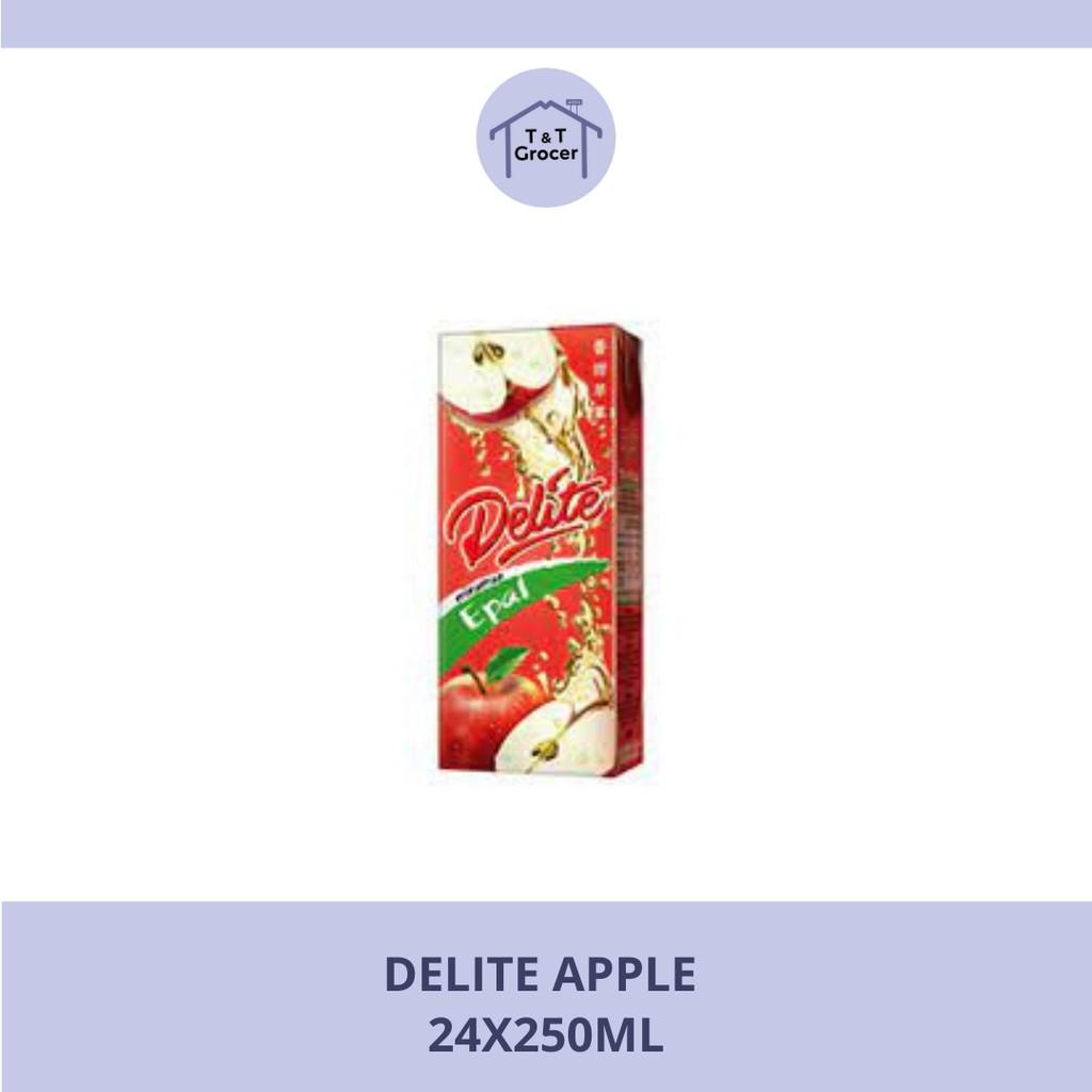 Delite 24x250ml (Apple/ Blackcurrant/ Kranberri & Delima/ Pink Guava)