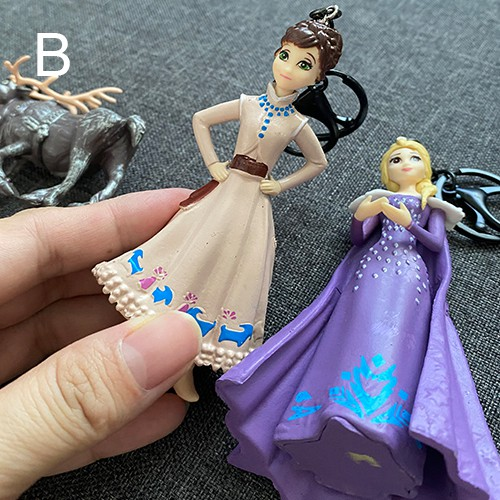 New Frozen Elsa Anna Olaf Keychain Collection