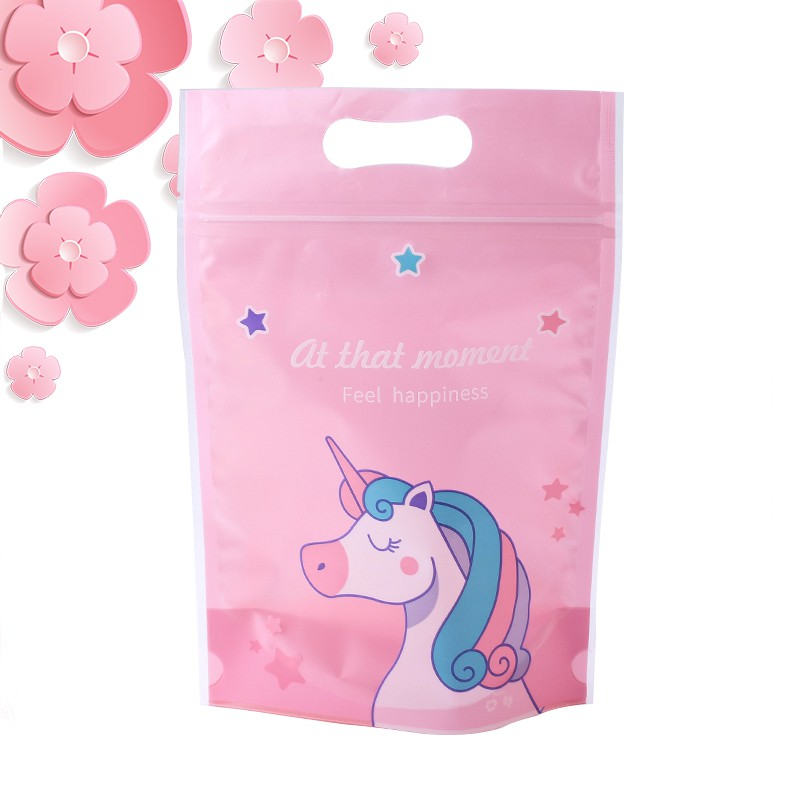 Fais Du Food Packing /Sealable Bag - Unicorn/Pink