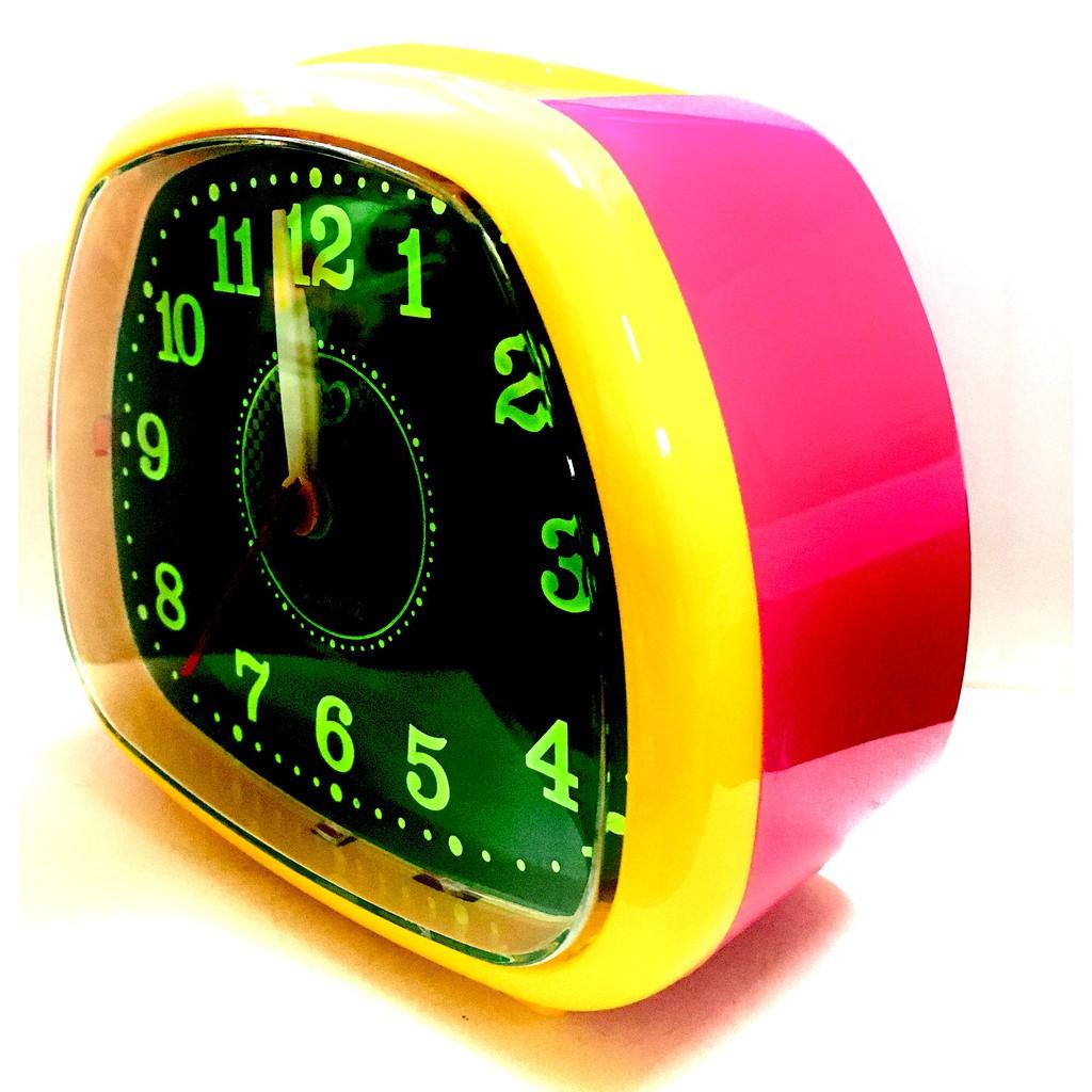 Globe Alarm Quartz Clock Loud Sound With Night Light BH109G