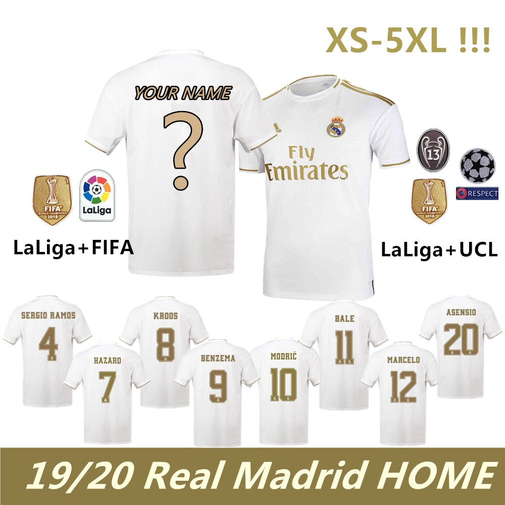 best service b2ffd f6b52 Real Madrid 19-20 Home Football Jersey Leaked
