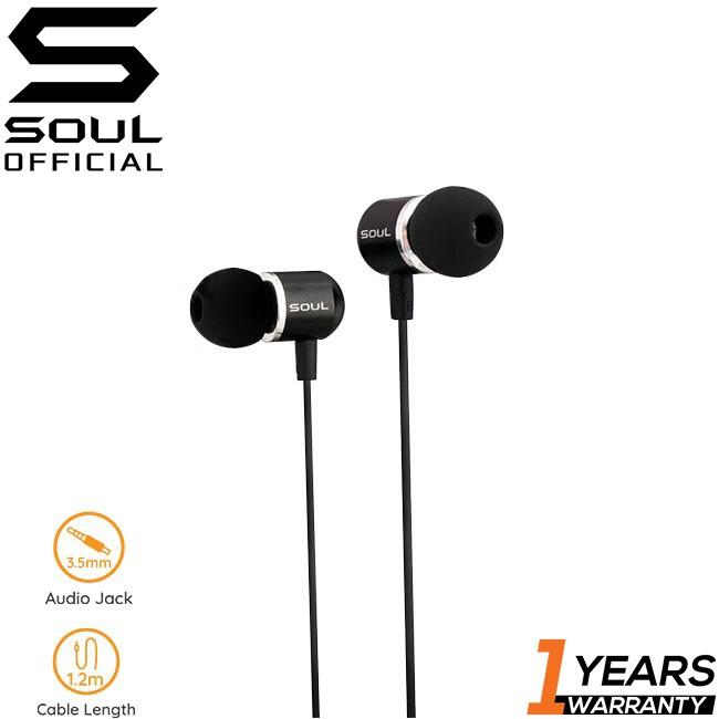 Soul Upbeat High Performance Earphones
